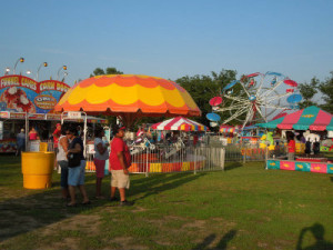 Massies Mill ruritan carnival midway day image