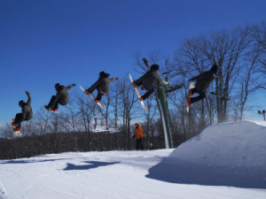 wintergreen Resort 1 terrain park action image
